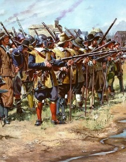 The Battle of Stamford Hill 16th May 1643
